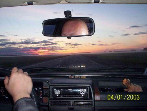 Рассвет за Омском