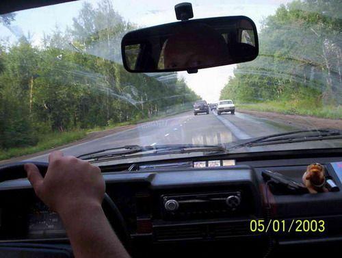 Трасса за Новосибирском