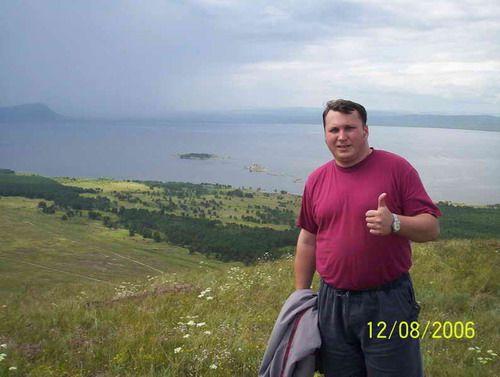 Вид на Красноярское море