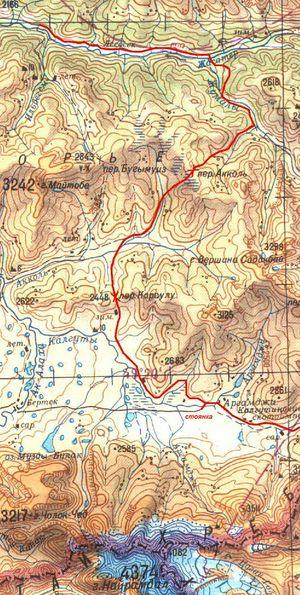 Карта Укока (2)