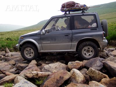 Дорога на перевал Ак-Коль