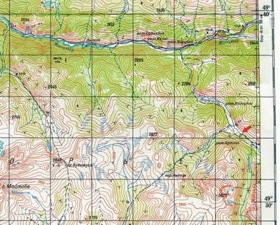 Карта Укока M45-XXII(Джазатор)