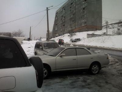 Перегон Toyota Carina из Владивостока в Барнаул.
