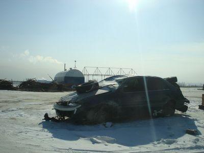 Перегон Toyota Corolla Fielder из Владивостока в Бичуру (Бурятия).