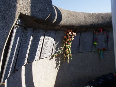 Кабардинка. Памятник погибшим на