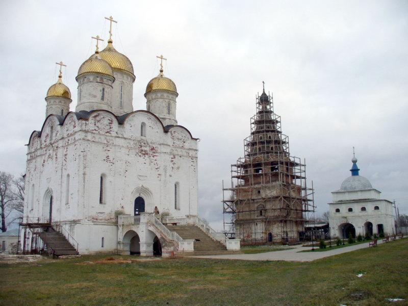 Можайск. Лужецкий монастырь.