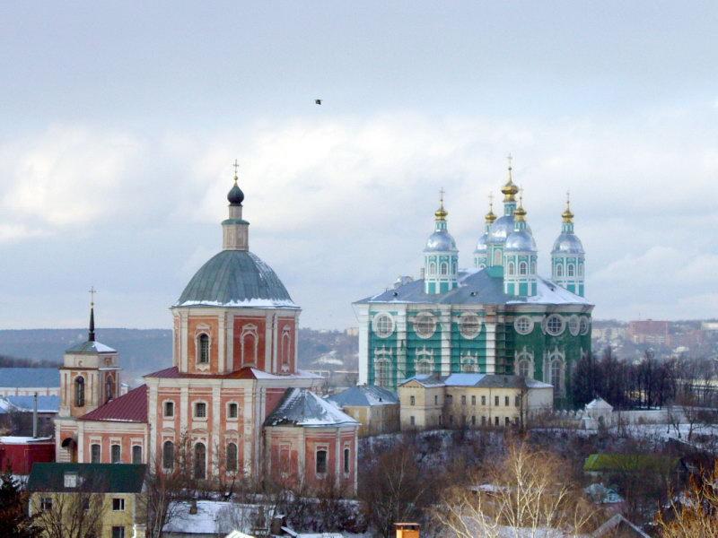 Смоленск. Соборная гора.