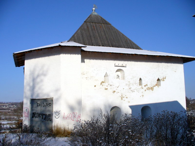 Смоленск. Спасская башня.