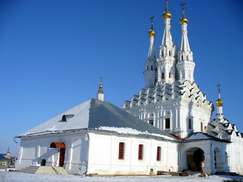 Вязьма. Церковь одигитрии.