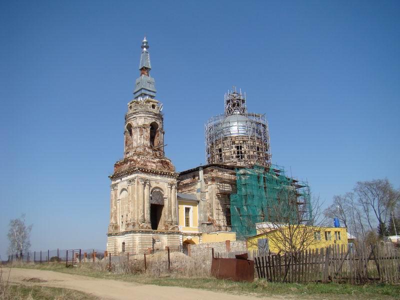 Райсеменовское Спасская церковь