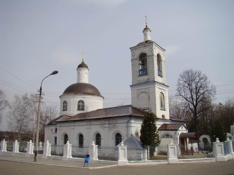Ступино Тихвинская церковь
