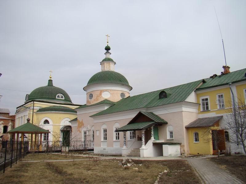 Свято-Троицкий Белопесоцкий монастырь Сергиевская церковь