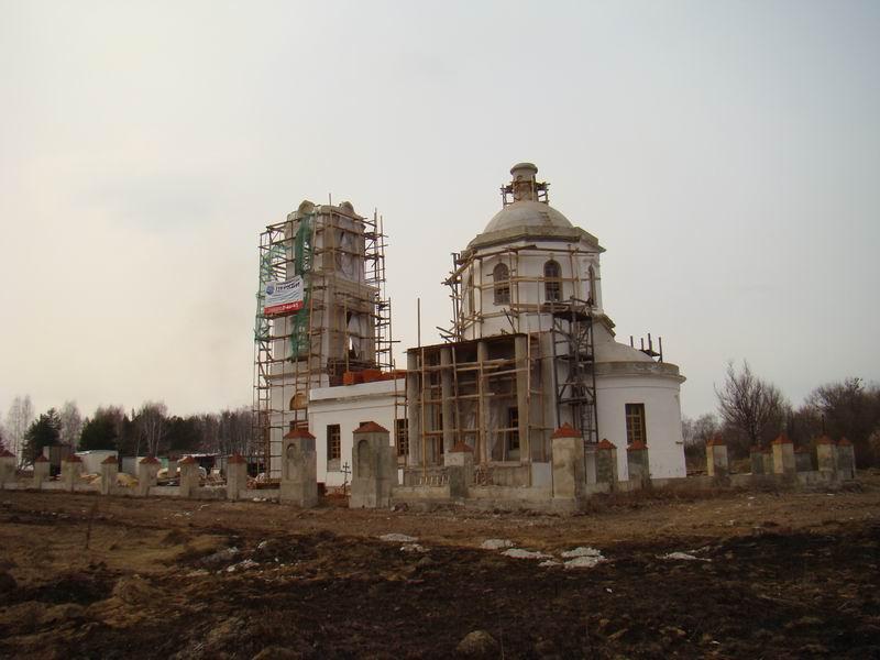 Старая Кашира Знаменская церковь