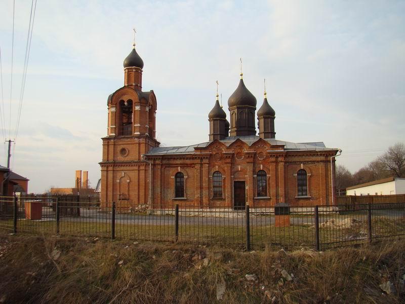 Боршева Никольская церковь