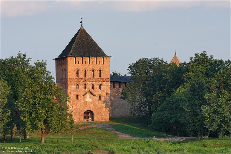 Владимирская башня, Великий Новгород