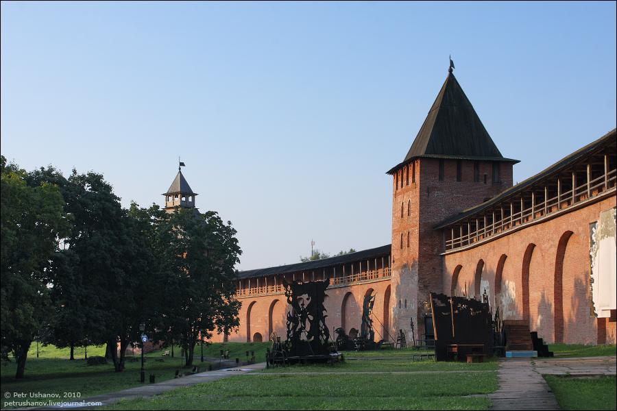 Великий Новгород, Детинец