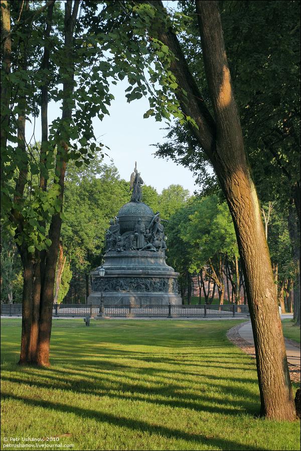 Великий Новгород, памятник 1000-летия России