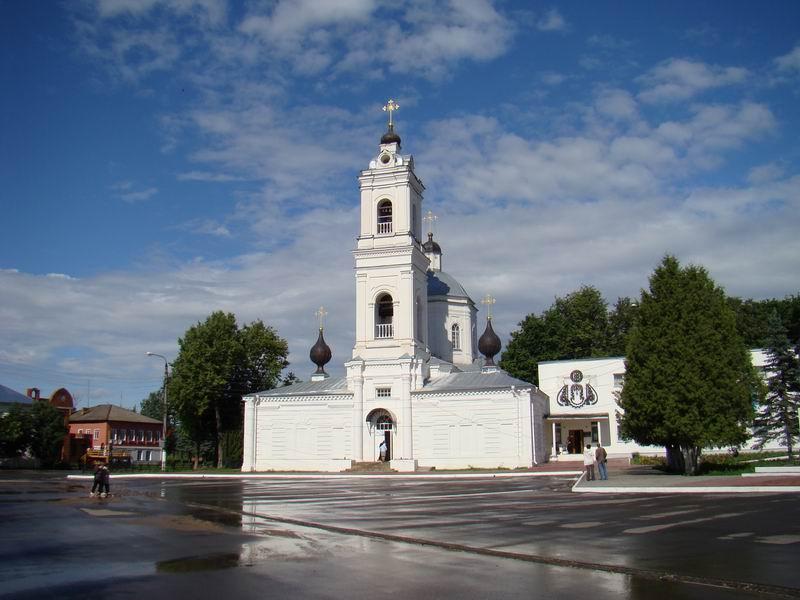 Таруса Петропавловский собор