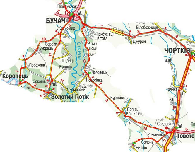 Карта путешествия. День 11
