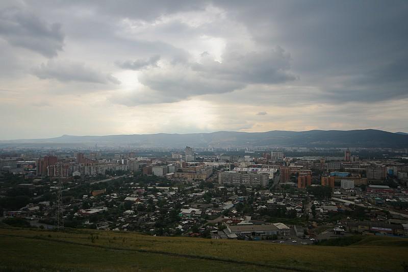 Красноярск - Дивногорск.