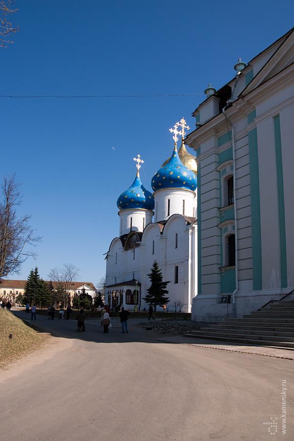 Успенский собор, Лавра, Сергиев Посад