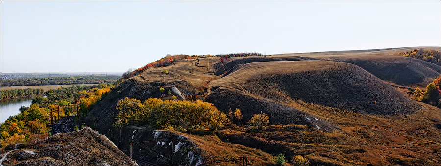 гора на реке дон