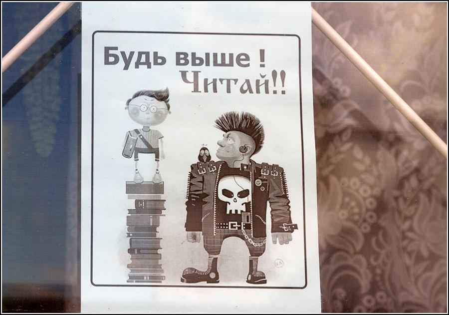 Библиотечная пропаганда