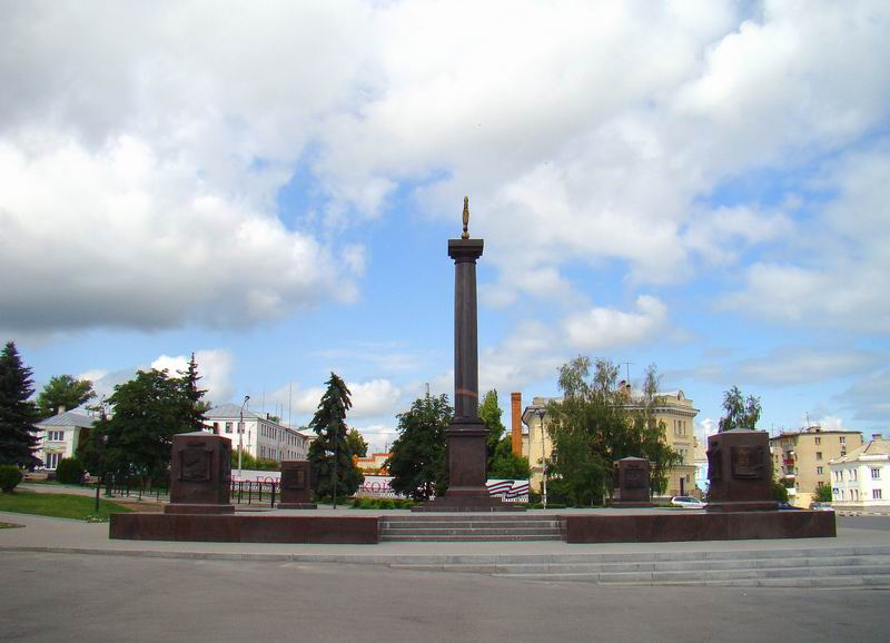 Елец Красная площадь