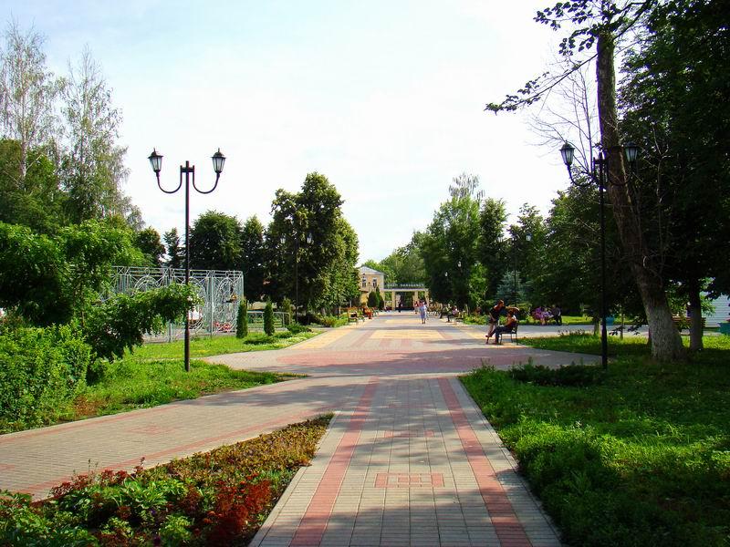 Елец Городской парк