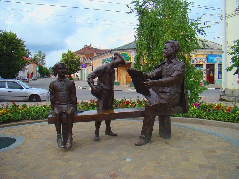 Елец Памятник Н. Н. Жукову
