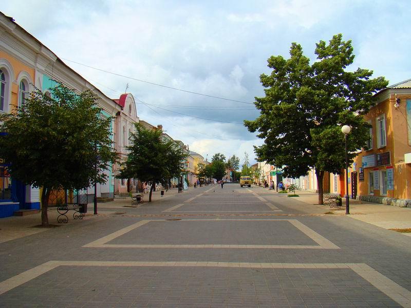 Елец Улица Мира