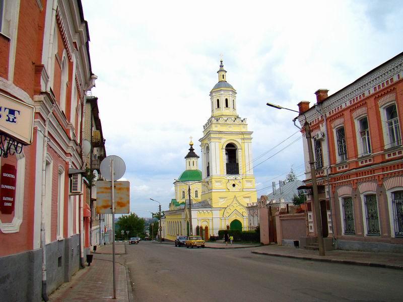 Елец Преображенская церковь