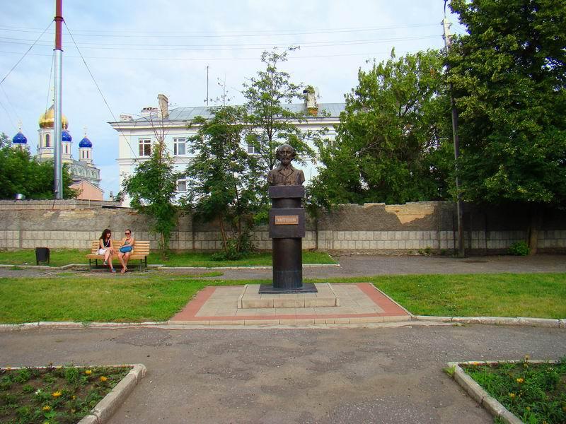 Елец Памятник М. М. Пришвину