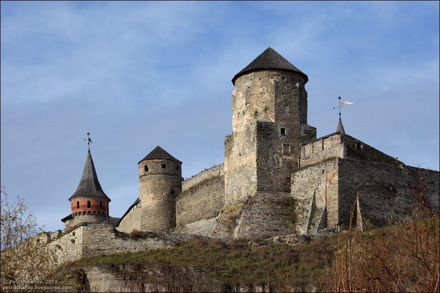 Каменец-Подольский, замок, крепость
