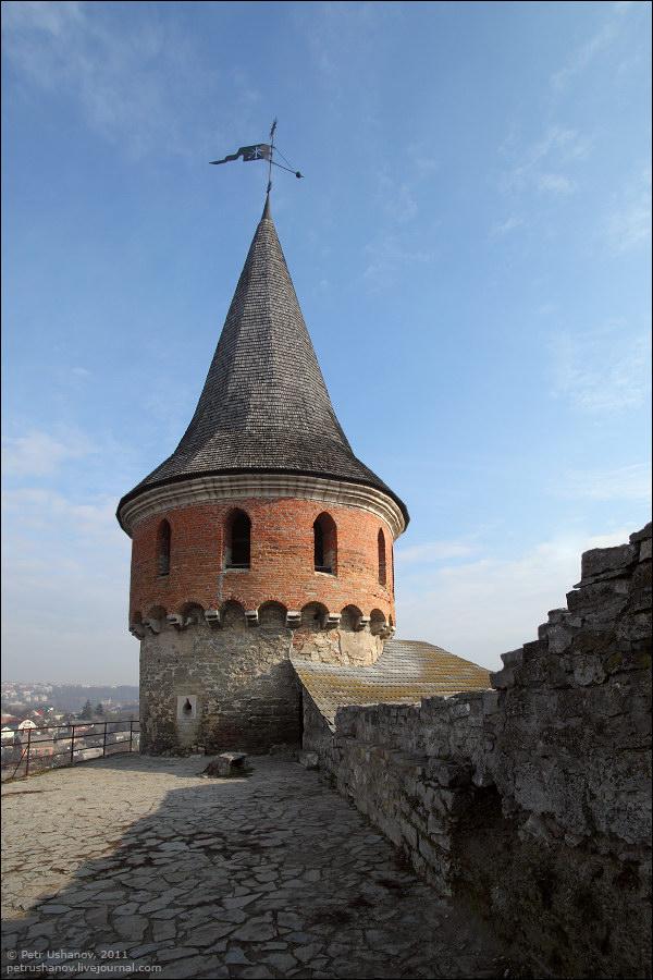 Каменец-Подольский, башня, крепость