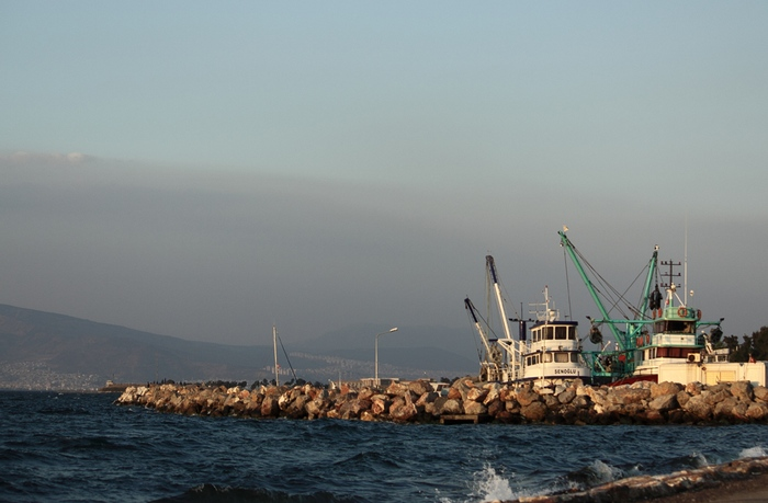 пристань в Измирском заливе