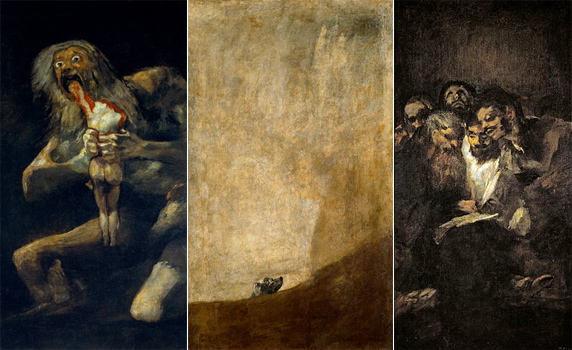 the cronus complex and goya s paintings
