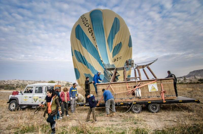 Каппадокия октябрь 2016 - полет на шаре (фотоотчет).
